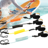 Surf Sup 4 Feet Ankle Leash Surfing Hand Leash Elastic Coiled Stand UP Paddle Board Leg Rope Surfboard Ankle Leash