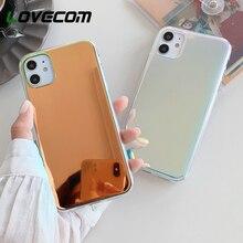 LOVECOM Luxury Mirror Laser Phone Case For iPhone
