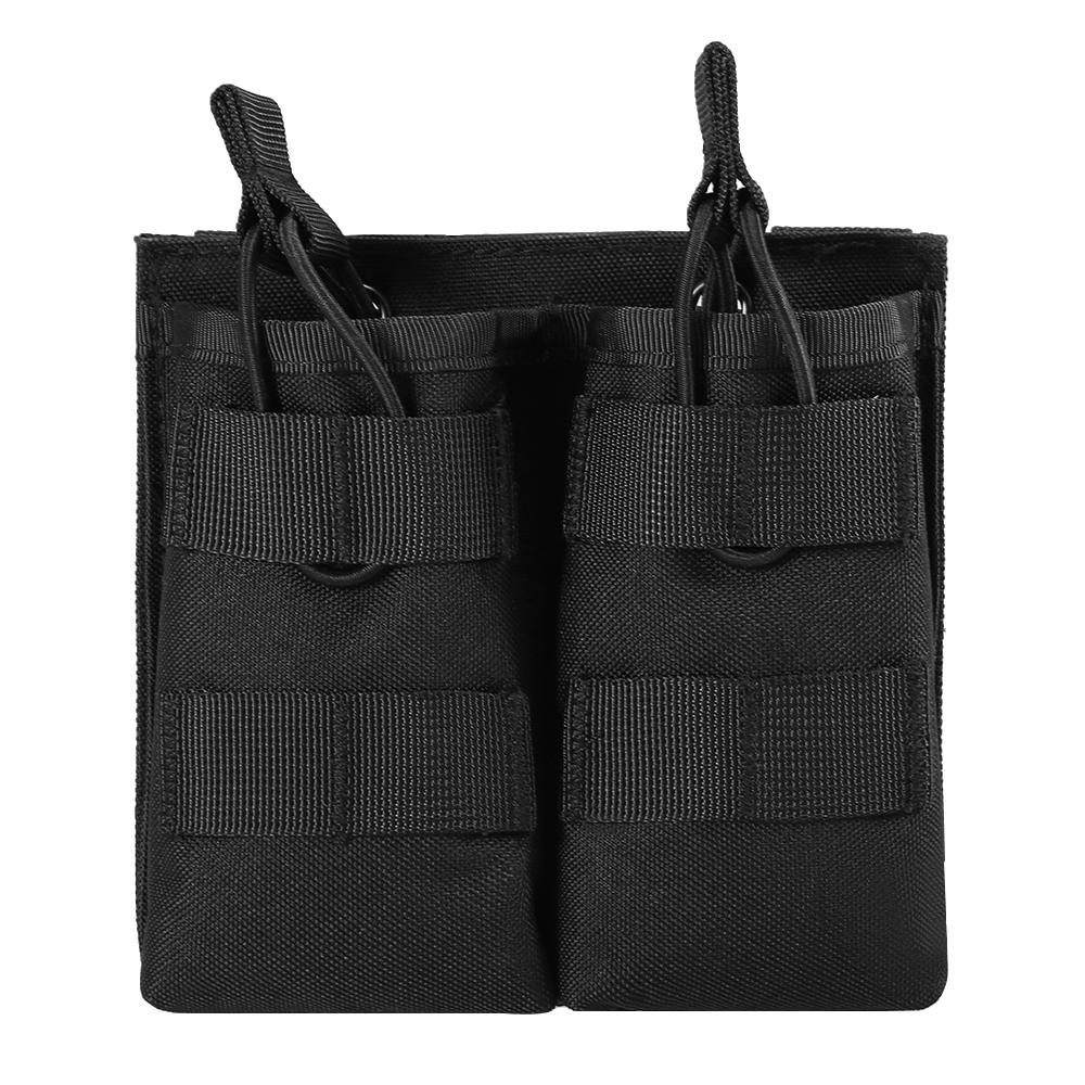 Lixada 600D Nylon Double Molle Pouch Outdoor Hunting <font><b>Magazine</b></font> Pouch Military Bag Carrier Holder Tactical Holster for <font><b>M4</b></font> <font><b>Magazine</b></font> image