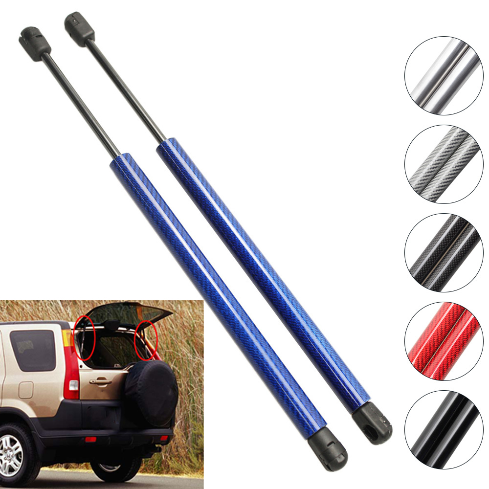2pcs Auto Rear Window Glass Gas Charged Spring Struts Lift Support For 1994, <font><b>1997</b></font> 1998 1999 2000 <font><b>2001</b></font> <font><b>Honda</b></font> <font><b>CR</b></font>-<font><b>V</b></font> 21.26 inch image