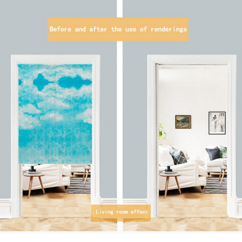 Permalink to Japanese Cotton Linen Printed Decor Doorway Curtain Wall Hanging Tapestry Screens & Room Dividers