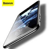 Baseus 0.23mm protetor de tela de vidro temperado para o iphone 8 7 6 s 6 s plus 3d borda macia estreito lado pet cobertura completa thoughened filme