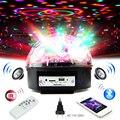 Vioce управление MP3 диско шар вечерние DJ огни Bluetooth 6 Вт RGB светодиодный сценический эффект свет лазерный стробоскоп свет для Рождества Рождест...