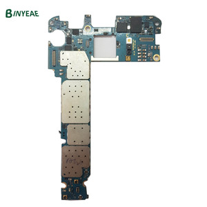 Image 2 - Orijinal 32GB 64GB Unlocked Samsung Galaxy not 5 için N920W8 N920I N920A Android mantık kurulu