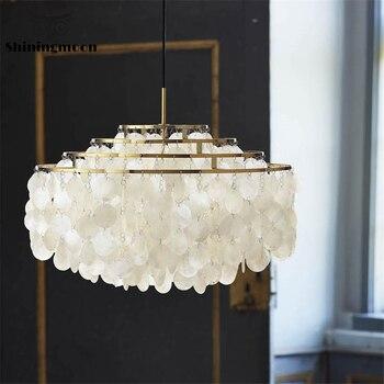 Lámpara nórdica de lujo E14 * 6, lámpara de araña, iluminación, arte francés, decoración del hogar, lámpara colgante, barra, cafetería, accesorio de luz