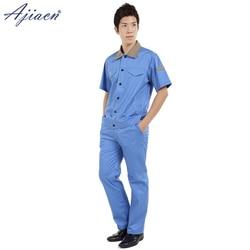 Genuine anti-electromagnetic radiation short sleeve clothing suit EMC laboratory Substation EMF shielding custom summer overalls