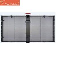 Transparent screen xxx P10 indoor 1000x500mm high brightness curtain LED video wall display