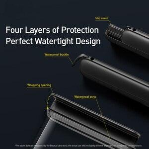 Image 5 - Baseus 7,2 дюйма Водонепроницаемый чехол для телефона сумка для купания Универсальный мобильный телефон чехол для телефона чехол для дрифта для подводного плавания серфинга
