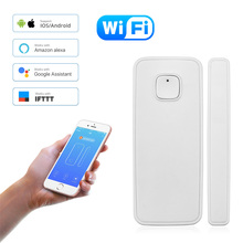 Home Security Protection 2.4G Wifi Tuya Smart Door Sensor Ph
