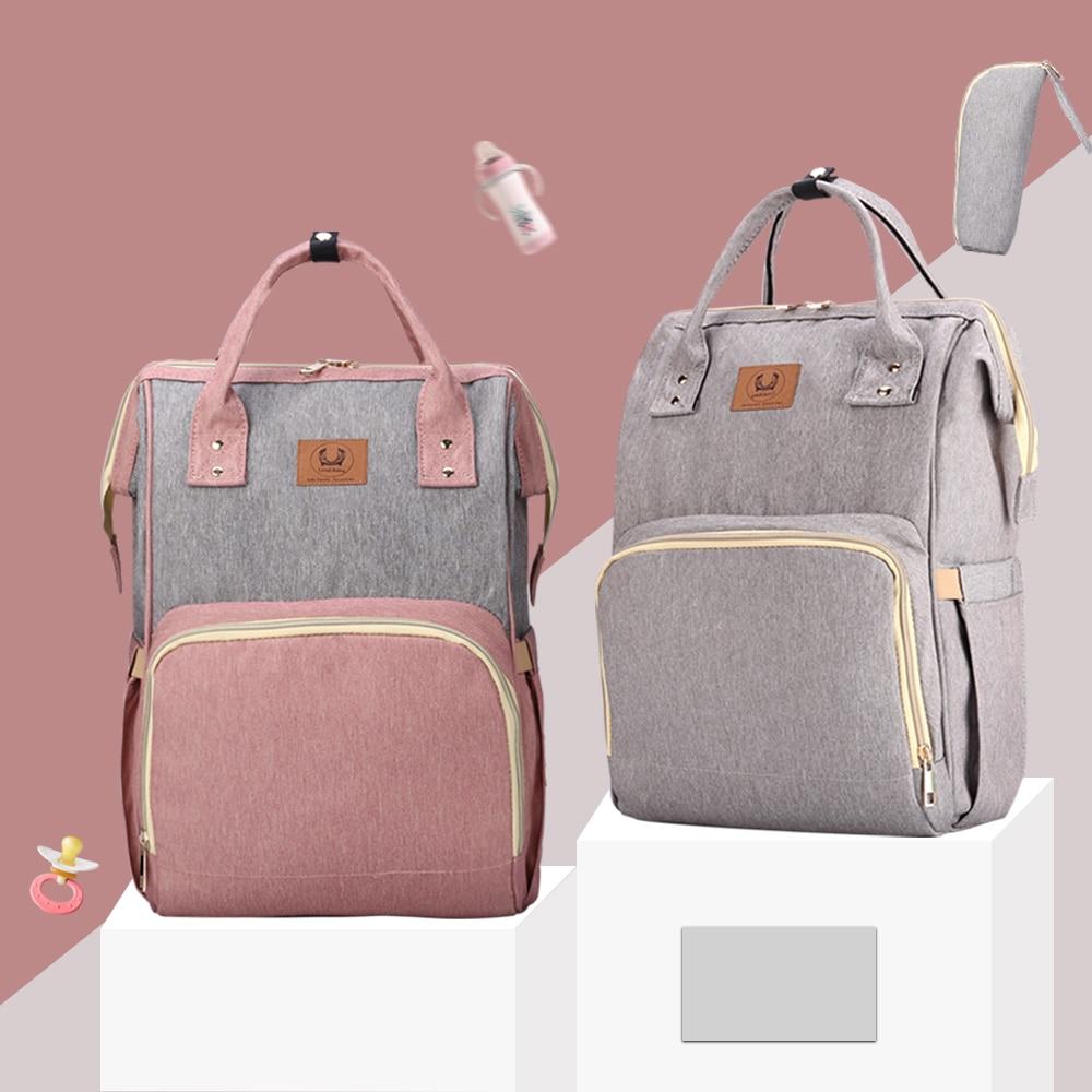New Diaper Bag Organizer Maternity Bag For Stroller Baby Bags For Mom Luxury Nursing Large Capacity Wet Bag Free Hooks|Diaper Bags| - AliExpress