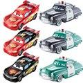 Disney Pixar Автомобили цветные чанеры Dinoco Молния Маккуин автомобиль 1:55 литья под давлением пластиковая модель автомобиля коллекция детская игр...