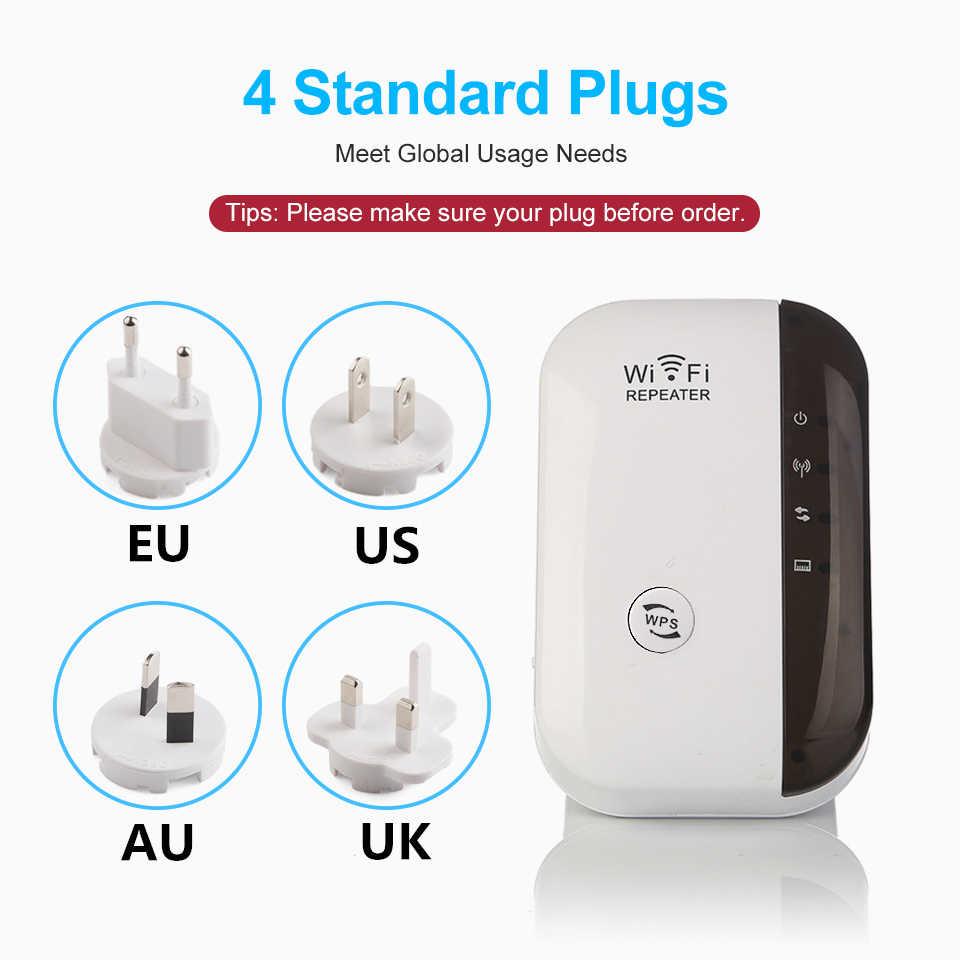 Senza fili Wifi Del Ripetitore 300Mbps di Rete Wifi Extender A Lungo Raggio Amplificatore di Segnale Internet Antenna ripetitore Del Segnale Del Punto di Accesso