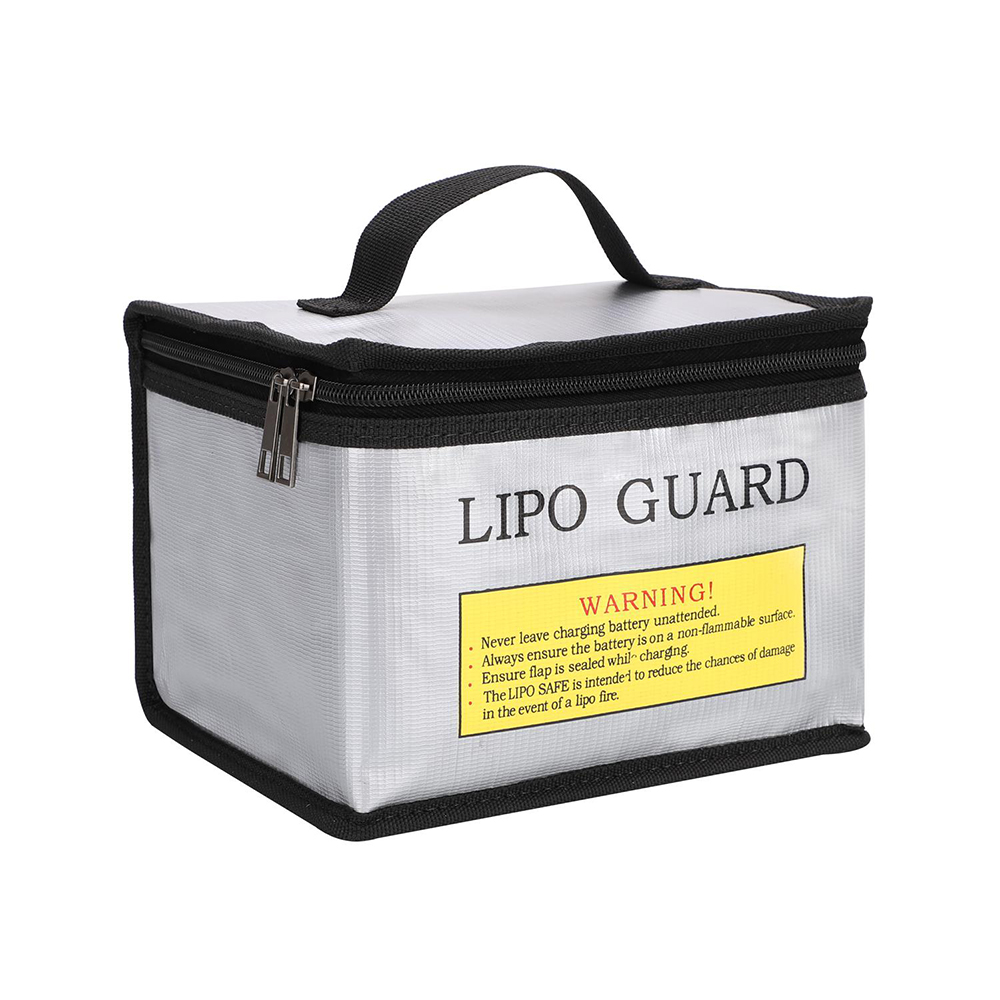 LiPo Guard Large Space Fireproof Bag Fireproof Battery Bags Safe Heat Protection Explosion-proof Bag Lithium Battery Safe Bag