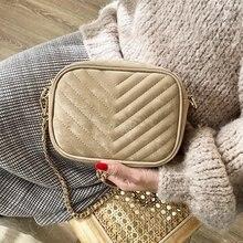 Зимняя модная бархатная кожаная дамская сумка мессенджер 2021