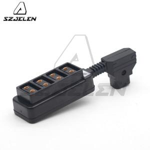 Image 1 - Man D Tap P Tap Naar 4 D Tap Vrouwelijke Hub Adapter
