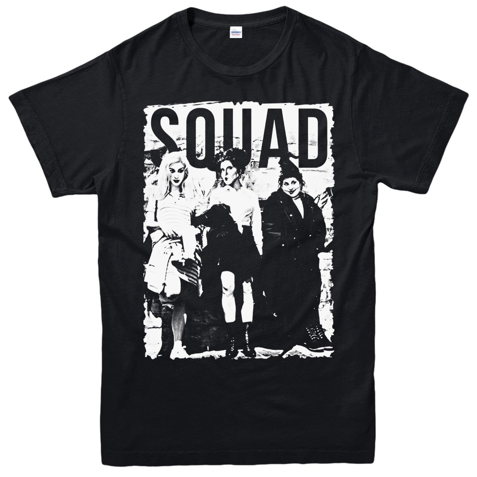 <font><b>Sanderson</b></font> <font><b>Sisters</b></font> T-Shirt Squad <font><b>Hocus</b></font> <font><b>Pocus</b></font> Movie Halloween Adult & Kids Tee Top Cool Casual pride t shirt men Unisex New image