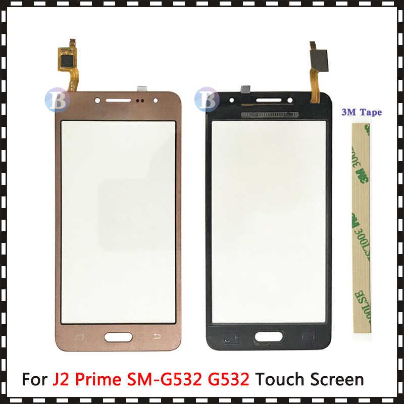 "AAA באיכות גבוהה 5.0 ""עבור Samsung Galaxy J2 ראש Duos SM-G532 G532 מגע מסך Digitizer חיישן חיצוני זכוכית עדשה פנל"