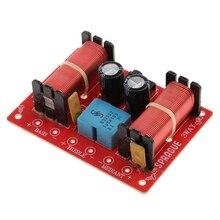 Divisor de frequência do filtro de áudio, profissional, 3 vias, para carro, casa, hi/mi/lo