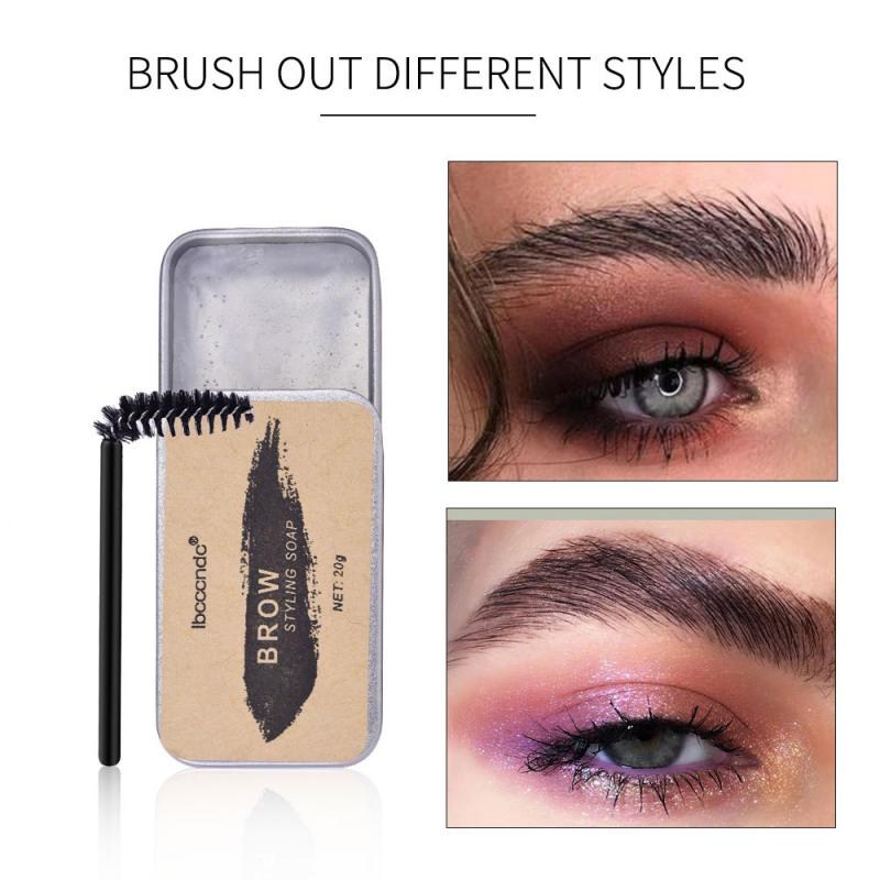 Natural Feathery Brows Setting Gel Waterproof Soap Brow Makeup Kit Lasting Eyebrow Gel Women Eyebrow Tint Pomade Cosmetics TSLM1