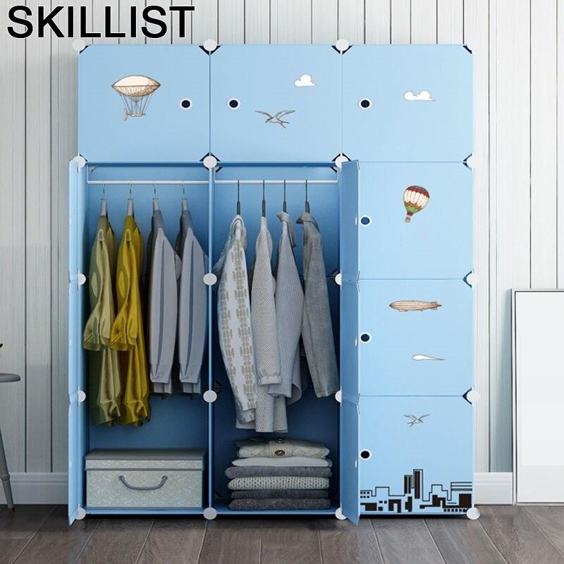 Kleiderschrank Armadio Dressing Penderie Chambre Rangement Armario Ropa Mueble font b Closet b font Cabinet Bedroom