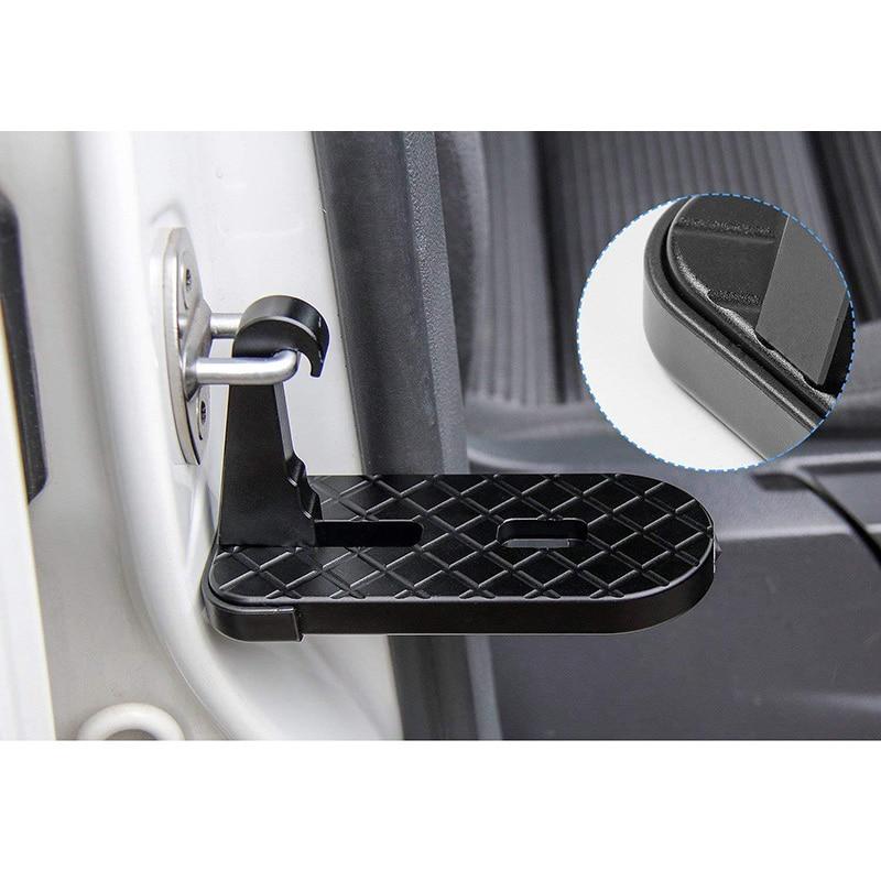 Auto Pedal Auf Dem Dach Dach Rack Pedal Fahrzeug Unterstützung Einfach Zugang Die Tür Schritt Süchtig Auf Auto Pedale Fußrasten Für jeep Suv Lkw
