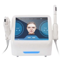 Najnowszy tech 2 w 1 hifu maszyna do zaciskania pochwy + napinanie skóry maszyna do liftingu twarzy tanie tanio NoEnName_Null Parafina podgrzewacz 110-240V