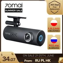 70mai – caméra de tableau de bord 1S DVR pour voiture, Wifi, 1080P, HD, Vision nocturne, capteur G, Dashcam, enregistreur vidéo, commande vocale en anglais