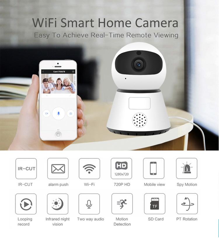 HD 1080P облачная беспроводная IP камера, интеллектуальная человеческая Автоматическая отслеживающая домашняя охранная CCTV сетевая камера с wifi