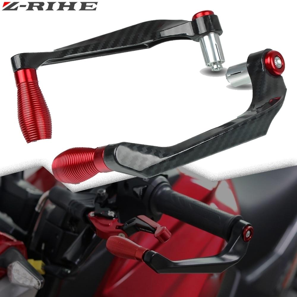 Orange Clutch Handlebar,Akozon Motorcycle Brake Clutch Levers Protect Guard Accidental Contact Handlebar 22mmv 1 Pair