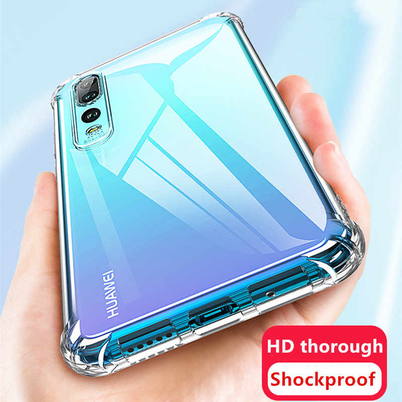 Shockproof Case Voor Huawei P20 P30 Mate 20 30 Pro Lite P Smart Z y9 2019 telefoon Case Honor 9x8x20 10 lite pro 8a 10i Back cover