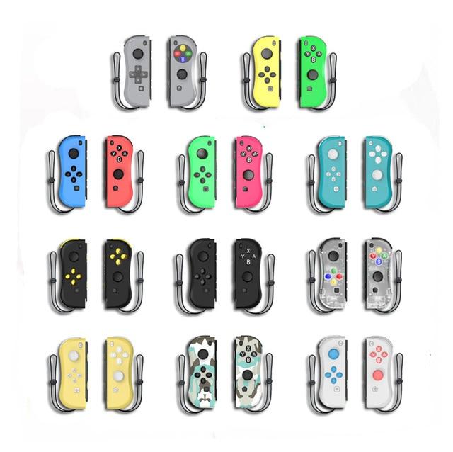 Bluetooth ワイヤレスプロリモートゲームパッドコントローラゲームパッドジョイスティック喜び詐欺 (l/r) nintend スイッチ ns ゲームコンソールとケーブル