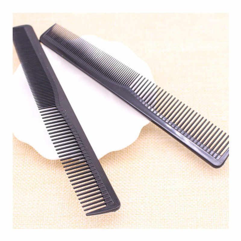 Hai Đầu Tóc Chải Chống Tĩnh Điện Carbon Bàn Chải Tóc Salon Chuyên Nghiệp Dụng Cụ Tạo Kiểu Tóc Làm Tóc Thợ Cắt Tóc Tay Cầm Combo