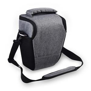 Image 4 - DSLR Camera Bag Case For Nikon D3400 D3500 D5600 D7500 P900 S Canon 1100D 200D 750D 80D T6 Lens Pouch Shoulder Package