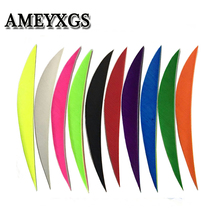 50pcs 5inch 12 Color Archery Arrow Feather Drop Shape Turkey Vanes Left Wing Fletching Hunting Accessories