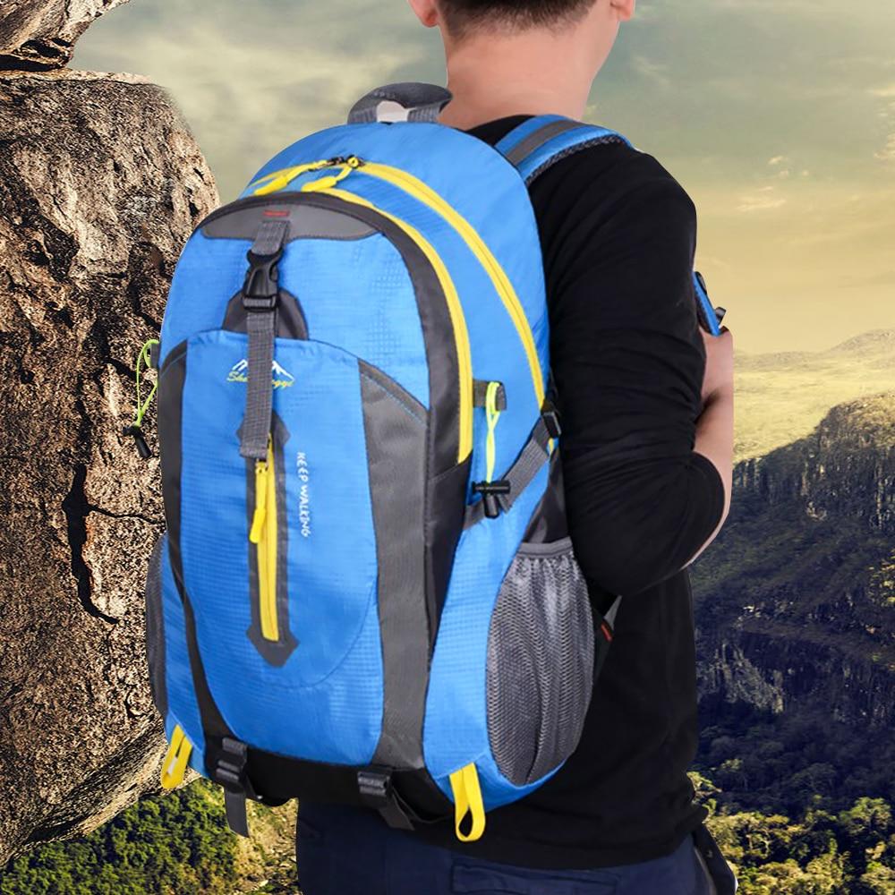 40L Outdoor Hiking Camping Bag Travel Waterproof Mountaineering Rucksac Backpack