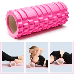 26CM*9CM Hollow Yoga Column Yoga Foam Roller Muscle Relaxation Pilates Fitness Roller Relieve Muscle Soreness Yoga Blocks