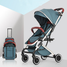Baby stroller aluminum shock absorber folding child umbrella four wheel cart light travel pram c e randall page of roses