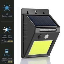 Водонепроницаемая лампа на солнечной энергии PIR датчик движения настенный светильник 48 Светодиодный IP65 инфракрасный солнечный свет для экономии энергии открытый садовый свет