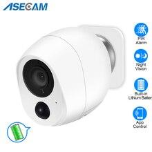 1080P WiFi Camera 2pcs 3000mAh Battery Powered 2.0MP HD Outdoor Wireless Security IP Camera Surveillance Weatherproof PIR Alarm