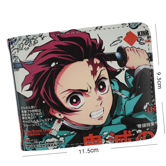 Demon Slayer Kimetsu No Yaiba Tanjiro Kamado Wallet Short Purse