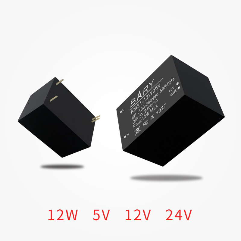 AC-DC Buck <font><b>Module</b></font> 110V~<font><b>220V</b></font> <font><b>To</b></font> 5V <font><b>12V</b></font> 24V 12W 2.4A Switch Power Supply <font><b>Module</b></font> Isolated <font><b>module</b></font> for Security Alarm AM21-12W image