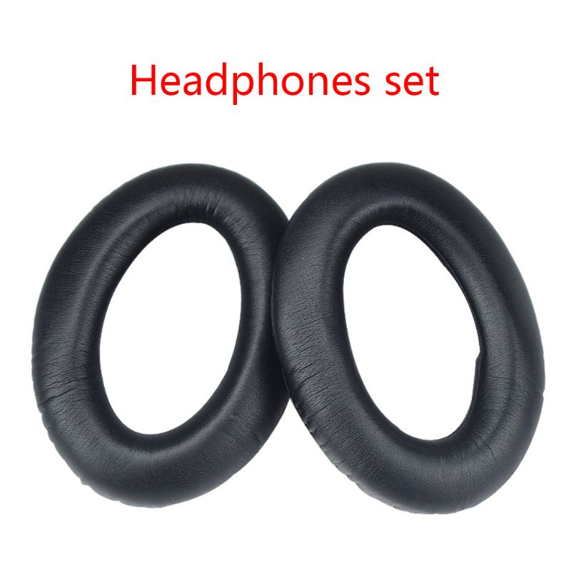 1 Pair Earphone Ear Pads Earpads Sponge Soft Foam Cushion Replacement for Sennheiser Game ONE Game ZERO HD380 HD380 Pro PC 373D image