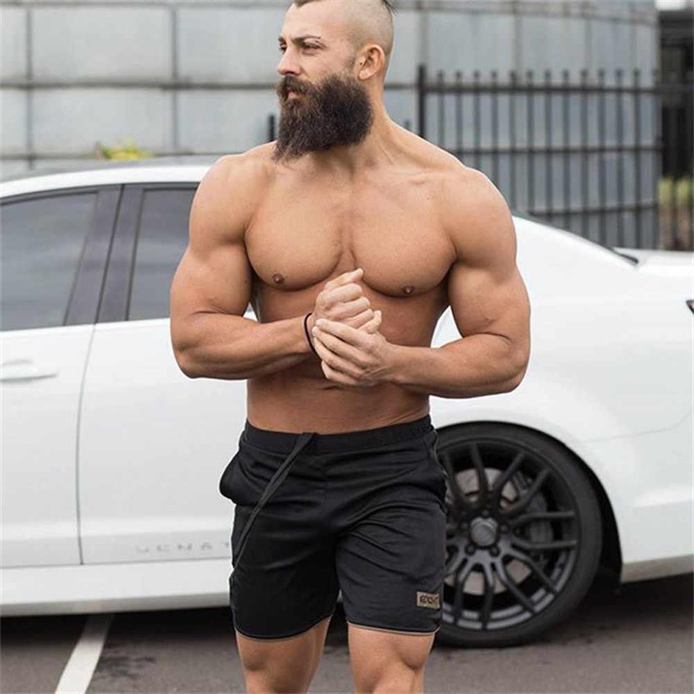 Men/'s Training Bodybuilding Summer Shorts Pants Workout Fitness Short GYM Pants