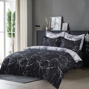 Nordic Modern Style 2/3pcs Bedding Set Marble Geometric Duvet Cover Sets With Pillowcase Quilt Cover Bedclothes
