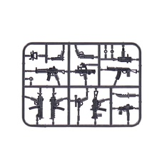 1PCS JX094 Modern Weapon parts Original Block Toy Swat Police Military Weapons City Accessories Compatible Mini Figures