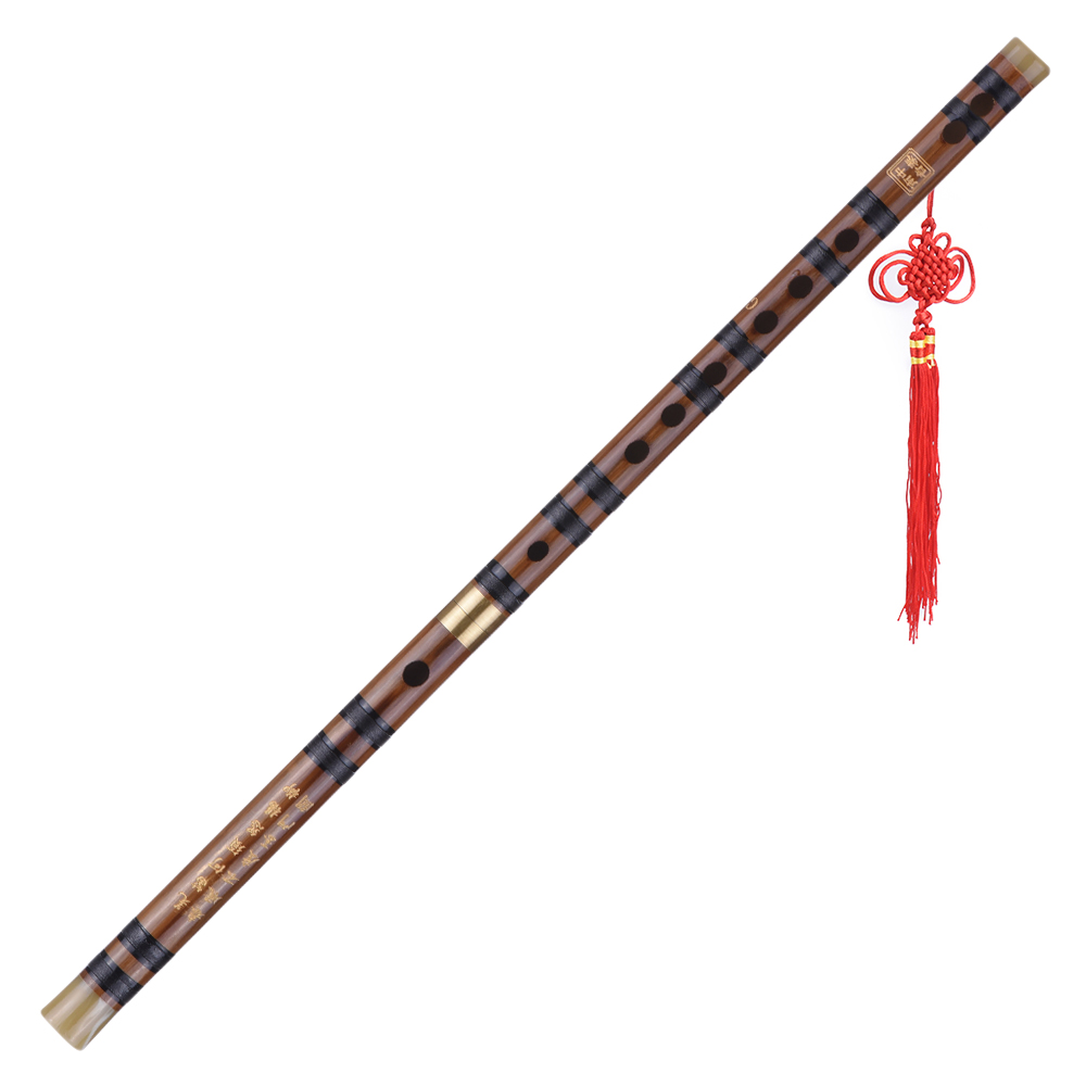 Genteel Pluggable Bitter Bamboo Flute Dizi Traditional Handmade Chinese Musical Woodwind Instrument Key Of Cdefg Study Level Performance Selling Well All Over The World