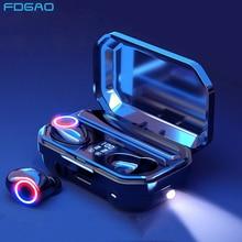 Headphones Mini Touch-Control Sports Earbuds FDGAO Bluetooth 5.0 Tws Wireless Waterproof