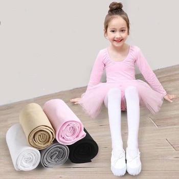 Candy Color Ballet Tights For Girls Spring Summer Dancing Children Pantyhose Velvet Kids Stockings Soft Baby Girl Toddler - discount item  25% OFF Children's Clothing