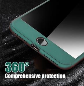 Чехол для iPhone 12 Pro, чехол с полным покрытием 360 градусов для iPhone 11, 12 Mini, XR, XS, Max, X, 8, 7, 6, 6S Plus, 5 5S SE 2020, чехлы для телефонов со стеклом Бамперы      АлиЭкспресс