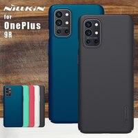 Funda de Nillkin para OnePlus 9R, carcasa esmerilada, funda protectora de PC rígido mate, Protector trasero de teléfono para OnePlus 9R 5G